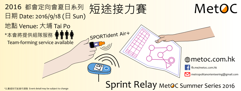 Sprint Relay 2016 v3.0 - Raster correction to WMMW